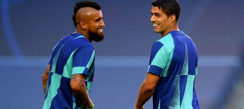 Gestul lui Koeman care le anunta PLECAREA de pe Camp Nou! Ce se intampla cu Suarez si Vidal inainte de primul amical al Barcelonei