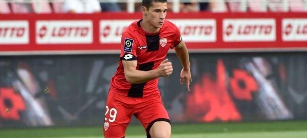 Alex Dobre, TITULAR pentru prima oara in Ligue 1! Echipa romanului a incasat inca o infrangere usturatoare