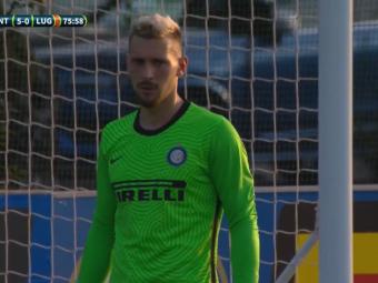 Ionut Radu a jucat PRIMUL MECI pentru Inter din acest sezon! Victorie la scor in amicalul cu Lugano