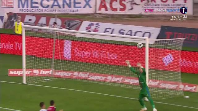Al doilea gol FANTASTIC primit de Pap dupa cel ISTORIC al lui Borja Valle! Lob de Champions League, dupa o iesire TOTAL aiurea a portarului de la Botosani