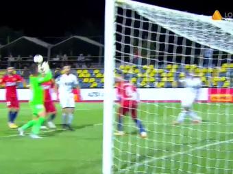 Gafe URIASE ale pustiului Ducan la debutul in poarta FCSB! Ducan, moment teribil in meciul cu Backa Topola! Ce a putut sa faca