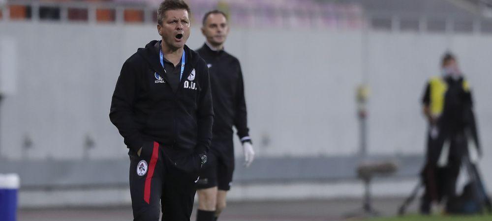 Dusan Uhrin Jr., OUT de la Gaz Metan dupa infrangerea cu Dinamo?! Conducerea i-ar fi gasit deja inlocuitor