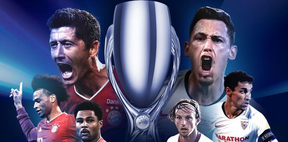 Bayern Munchen - Sevilla, LIVE TEXT, de la 22:00   Sevilla incearca sa opreasca FURIA bavarezilor in Supercupa Europei! Echipele probabile
