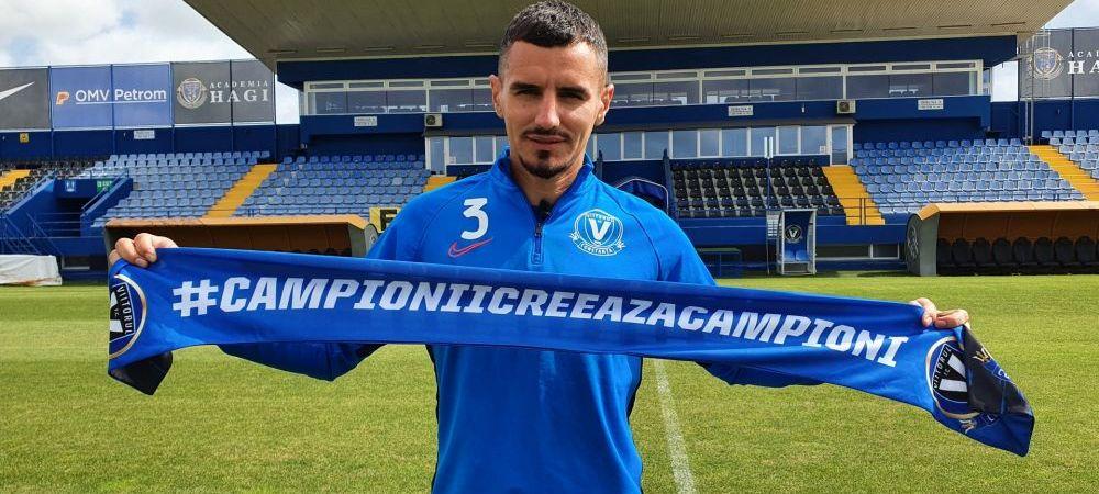 OFICIAL! Romario Benzar a revenit la Viitorul! Ce a declarat fundasul dupa ce a revenit la echipa lui Gheorghe Hagi