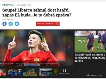 """""""FCSB s-a calificat in turul 3 doar dupa penalty-uri! Echipa are probleme URIASE!"""" Ce au scris jurnalistii cehi inaintea meciului cu Slovan Liberec"""