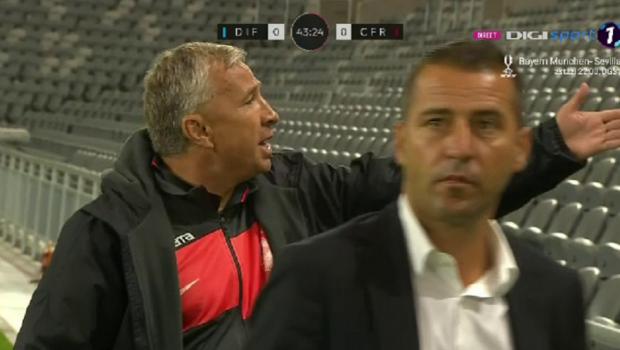 """""""Zi-le, ba, ca e penalty!"""" Dan Petrescu, TURBAT pe margine! Ce reactie a avut in meciul cu Djurgardens"""