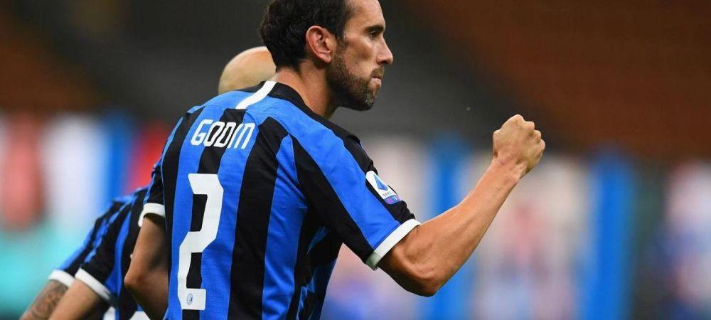 Diego Godin a plecat de la Inter, dar ramane in Serie A! Unde va juca uruguayanul! Va fi coleg cu un fotbalist roman