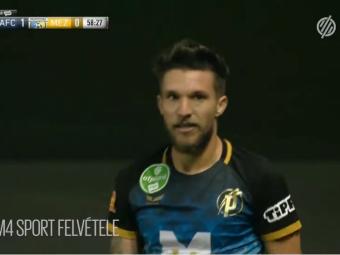 Gol DECISIV pentru Alex Baluta in Ungaria! Si-a dus echipa pe primul loc dupa ce a inscris golul victoriei! Cum a marcat