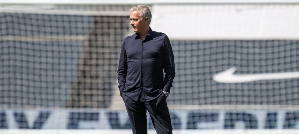 """Noroc ca n-a fost aici sa masoare portile!"" :) Jose Mourinho, ironizat dupa ce a oferit faza saptamanii in Europa League!"