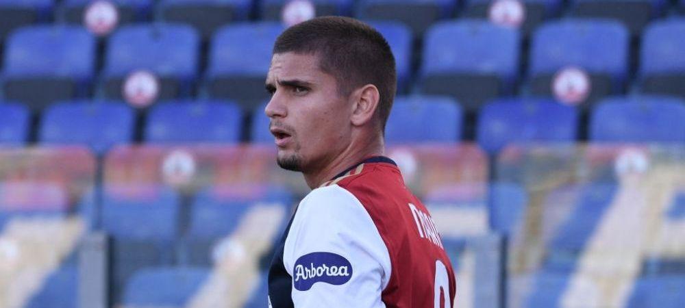 Razvan Marin i-a cucerit pe italieni! Ce au facut suporterii lui Cagliari in momentul in care mijlocasul a fost schimbat