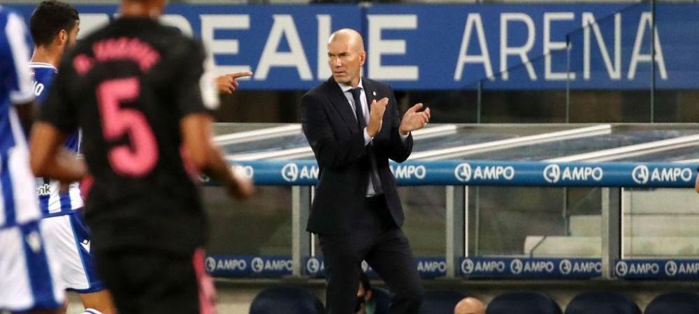 Transfer SURPRIZA la Real Madrid! Cine este ANONIMUL pe care si-l doreste Zidane pe Santiago Bernabeu