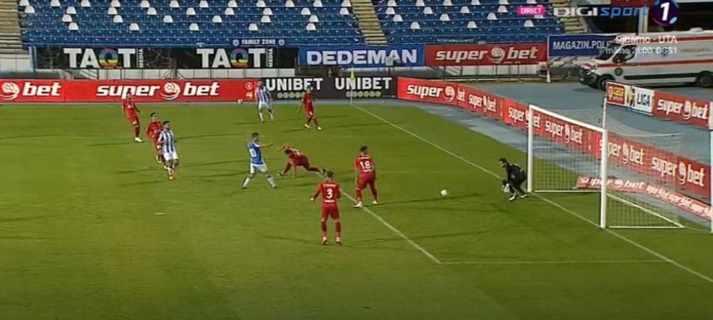 """Andrei Cristea, savuros dupa ce a marcat 3 goluri in poarta FCSB-ului: """"Nu am mai inscris un hat-trick de cand aveam 19 ani!"""""""