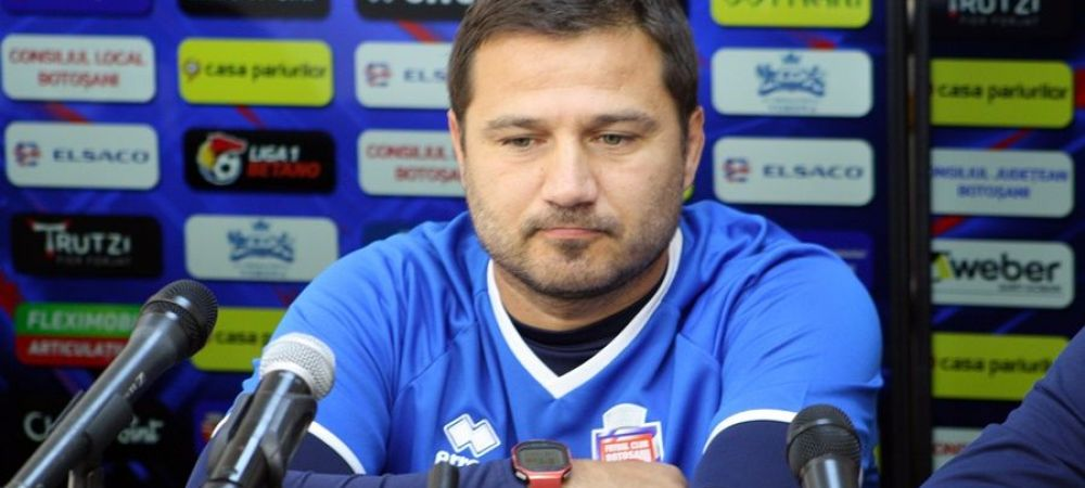 Oficialii lui FC Botosani suparati foc pe arbitraj! Croitoru nu a vrut sa vorbeasca dupa meci!