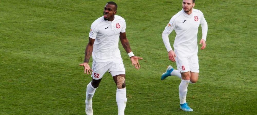 Primele declaratii ale lui Pires, marcatorul golului victoriei lui Hermannstadt in meciul cu Botosani! Ce a spus jucatorul