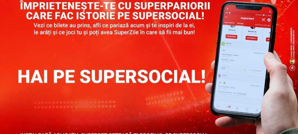 (P) 5 SuperFuncționalități ale SuperSocial! Ție ce îți place să faci mai mult în aplicația de mobil de la Superbet?