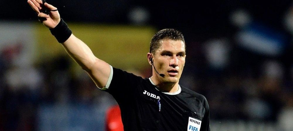 Istvan Kovacs, la centrul unei partide importante din playoff-ul Europa League! Ce duel va arbitra romanul