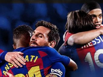 Messi si 'copiii sai' din teren! Ce spun tinerii din echipa Barcelonei despre capitanul lor