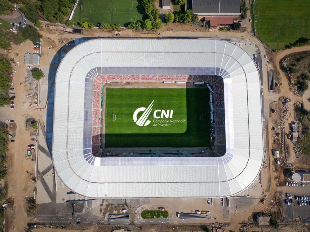 IMAGINI senzationale cu 'bijuteria' din Ghencea! Stadionul Stelei e gata sa primeasca 32.000 de suporteri!