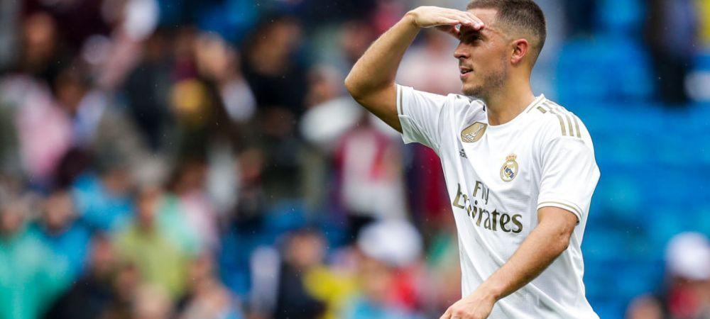 "Eden Hazard se intoarce pe teren! Anuntul lui Zidane: ""Se antreneaza bine cu echipa"""
