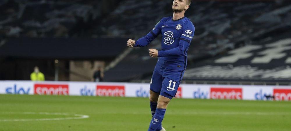 Timo Werner a spart gheata! Primul gol in tricoul lui Chelsea al omului de 65 de milioane de euro