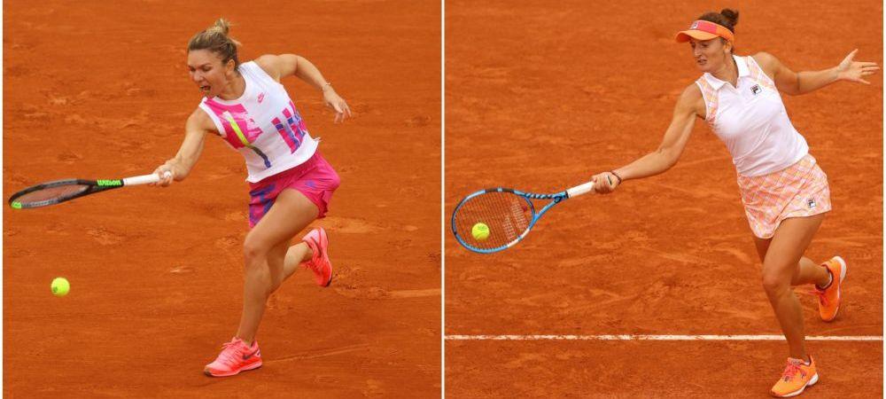 HALEP CASTIGA SUPER-DUELUL 100% ROMANESC de la Roland Garros, 6-3, 6-4 vs. Irina Begu | Simona Halep se califica in turul 3, unde va avea sansa revansei cu Anisimova!