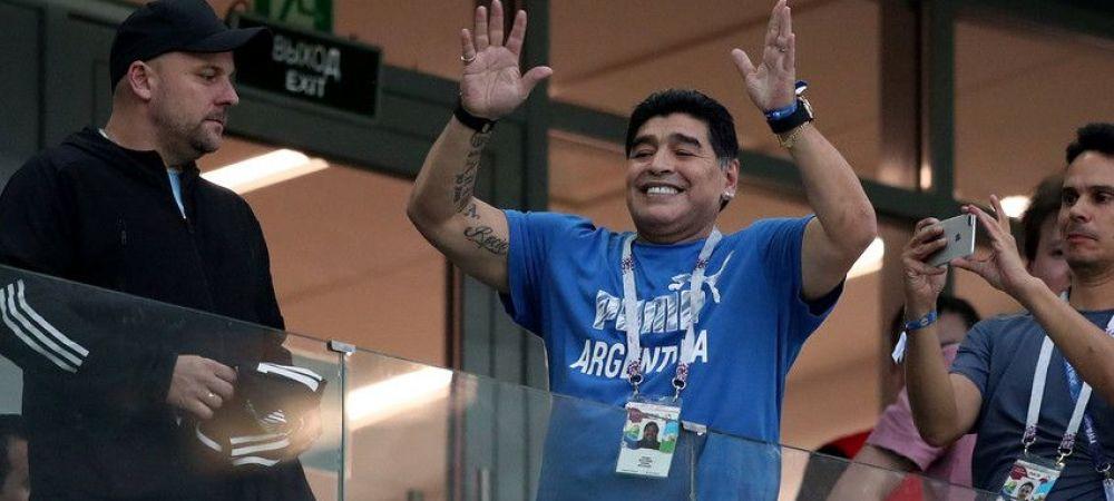 Maradona traieste in VIITOR! Cum a putut veni la meciul echipei sale legenda Argentinei!