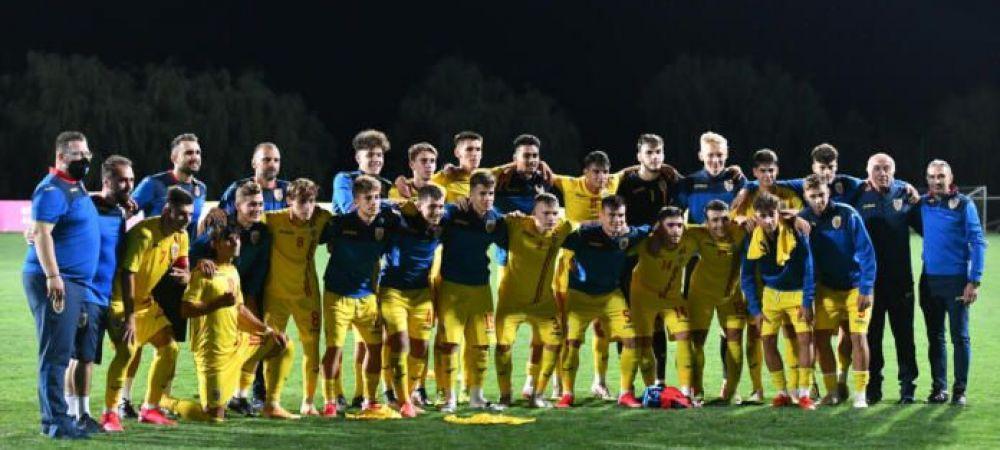 Duel cu Dinamo pentru pustii din nationala Romaniei U19! Tricolorii mici vor juca un amical cu formatia lui Cosmin Contra