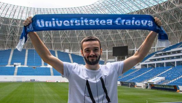 Kamer Qaka si-a reziliat contractul cu Universitatea Craiova! Anuntul clubului din Banie