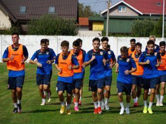 Jucatori de la FCSB, Viitorul, Craiova si Dinamo au fost chemati la nationala U19, care vrea sa castige Campionatul European in 2021