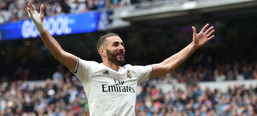 Cifre din alta GALAXIE! Benzema mai are nevoie doar de 10 meciuri pentru a intra istoria lui Real Madrid