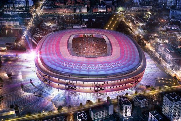 Cel mai mare stadion din Europa se extinde! Imagini IREALE cu noua bijuterie pe care si-o face Barcelona! Cat ii va costa pe catalani constructia