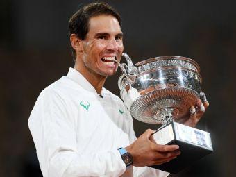 """Mesajul emotionant transmis de Rafael Nadal dupa al 13-lea trofeu la Roland Garros: """"Ne confruntam cu una dintre cele mai grele vremuri de care ne amintim."""""""