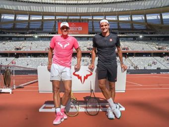 """REACTIA FABULOASA a lui Roger Federer dupa ce Rafael Nadal l-a egalat la numarul de turnee de Grand Slam castigate: """"Cred ca ne-am provocat unul pe altul."""""""