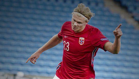 Performanta FANTASTICA reusita de Erling Haaland chiar in meciul cu Romania! Norvegianul a reusit primul hat-trick din cariera pentru echipa nationala