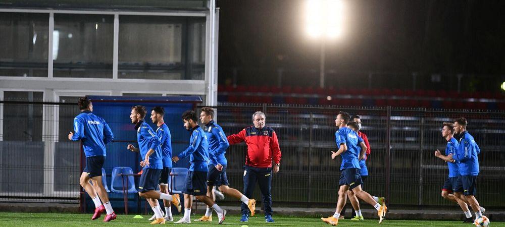 """""""Tricolorii mici"""" s-au pregatit in Ghencea pentru meciul cu Malta U21! Razvan Burleanu a fost prezent la antrenamentul oficial!"""