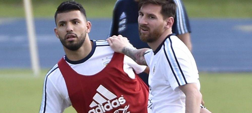 """Fata lui Lionel Messi pe care nimeni nu o stia! Aguero a DEZVALUIT cum este sa fii prieten cu superstarul Barcei: """"El se plange foarte mult"""""""