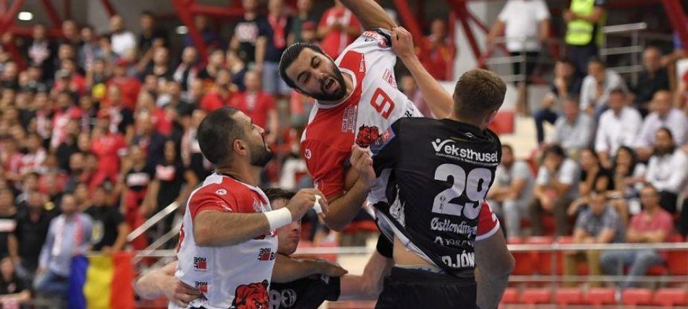 Antrenorul lui Dinamo si alti trei jucatori din echipa au fost infectati cu coronavirus! Meciul contra lui Sporting Lisabona din grupele EHF este in pericol!