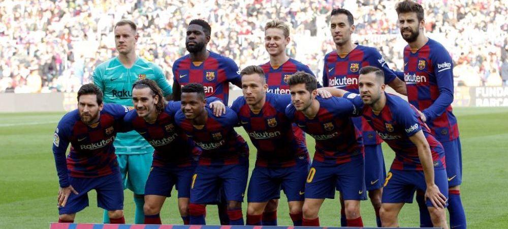 Nu se opresc problemele la Barcelona! Tensiuni intre fotbalistii lui Koeman! Motivul care a dus la aceasta situatie