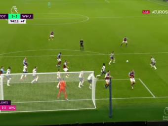 Opriti-va din TOT CE FACETI! Tocmai s-a marcat golul sezonului! SOC pentru Mourinho in minutul 94! Gol EXTRATERESTRU in Tottenham-West Ham