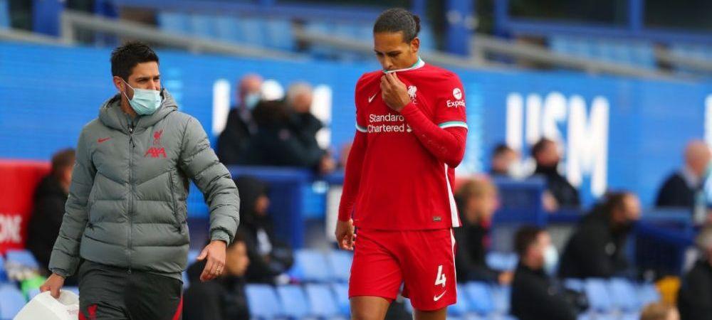 """Mesaj emotionant al lui Van Dijk dupa accidentare! Promisiunea facuta fanilor de fundasul lui Liverpool: """"Este important sa nu renunti!"""""""