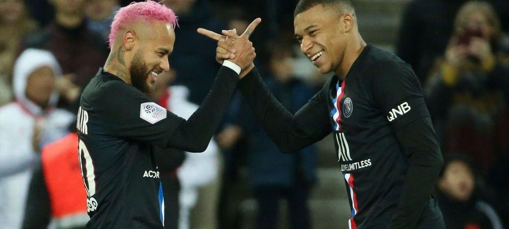 Neymar si Mbappe, la poli opusi! Brazilianul e pregatit sa o duca din nou pe Paris Saint-Germain in finala UEFA Champions League