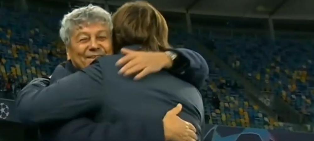 Moment emotionant pentru Lucescu inaintea meciului cu Juventus! Ce a facut cand s-a intalnit cu Pirlo