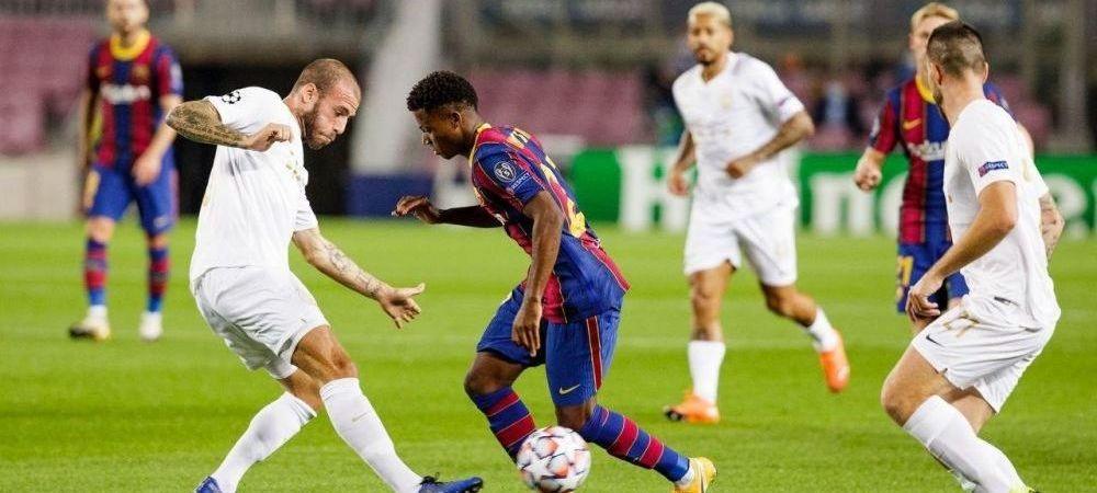TOTI OCHII pe pustiul care poate DOMINA viitorul in fotbalul mondial! Ansu Fati, primul jucator care da doua goluri in Champions League inainte de 18 ani