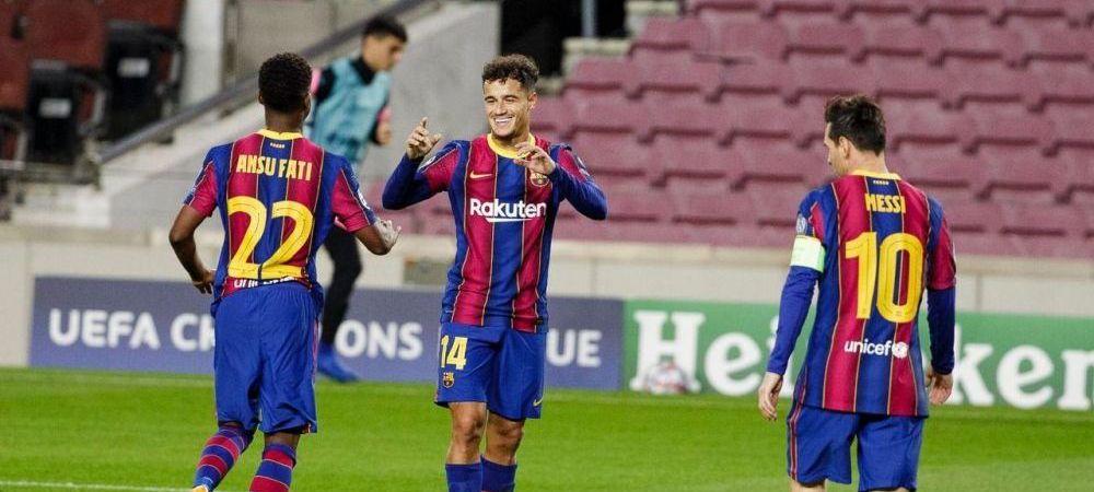 Anuntul de la MIEZUL NOPTII! 4 vedete si-au PRELUNGIT contractele cu Barcelona in ziua meciului cu Ferencvaros! Au acceptat o scadere masiva a salariului