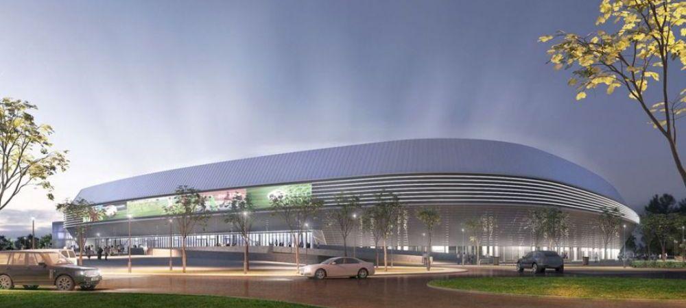 Inca un stadion de SUPERLUX in Romania! Arata SUPERB si va fi construit intr-un oras cu echipa de liga a 3-a. Costa 45 de milioane de euro