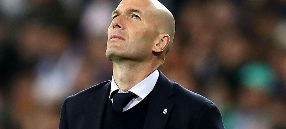 Zidane isi joaca scaunul in'El Clasico'! Ce spune presa din Spania despre ultima infrangere din Champions League