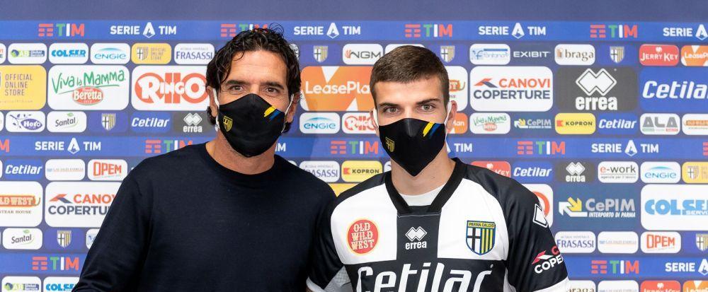 Debutul lui Mihaila la Parma se amana! Ce se intampla cu fotbalistul transferat de la Craiova pe 9 milioane de euro