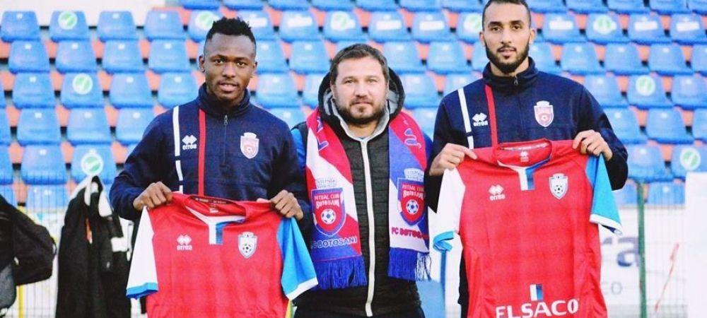 FC Botosani a TRANSFERAT dintr-un foc trei fotbalisti! Unul dintre ei a evoluat si in UEFA Champions League!