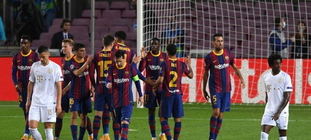 Vestiarul Barcelonei, RUPT IN JUMATATE cu doar cateva zile inainte de El Clasico! Cine sunt jucatorii care au REFUZAT scaderile salariale