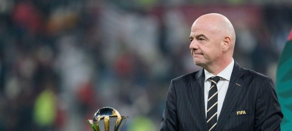 """""""Nu sunt interesat de Bayern vs Liverpool!"""" Prima reactie a presedintelui FIFA despre competitia de LUX planuita de cluburile europene!"""